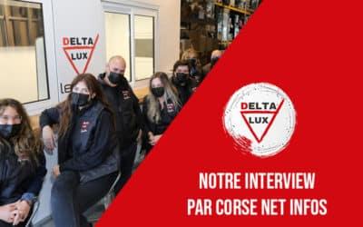 Notre interview par Corse Net Infos!