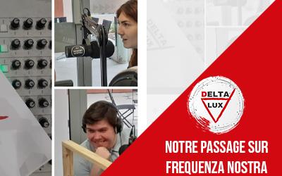 Notre passage sur la radio Frequenza Nostra !